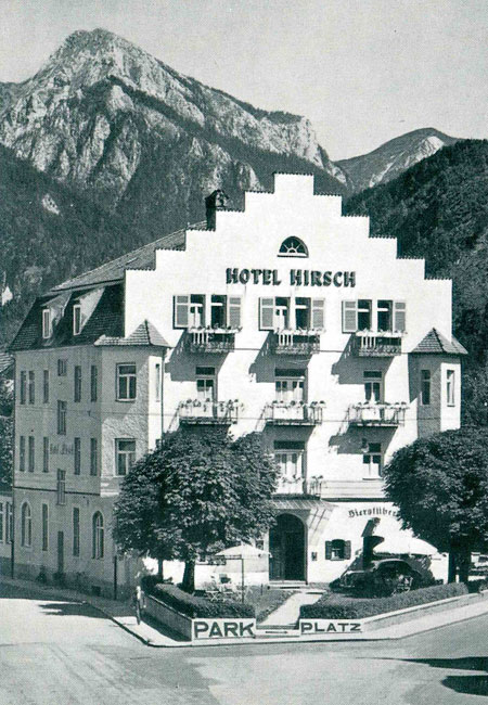 Hirsch Hotel in the 1930s and 1940s