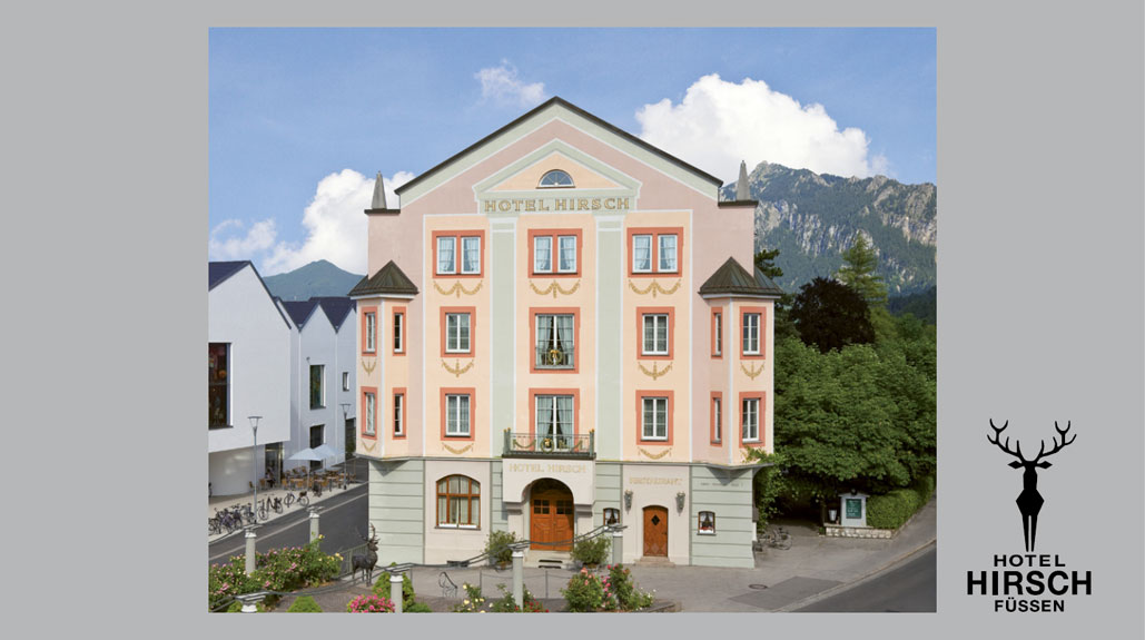 Take a look at our hotel brochure of Hirsch Hotel in Füssen