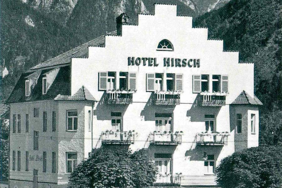History of the Hirsch Hotel