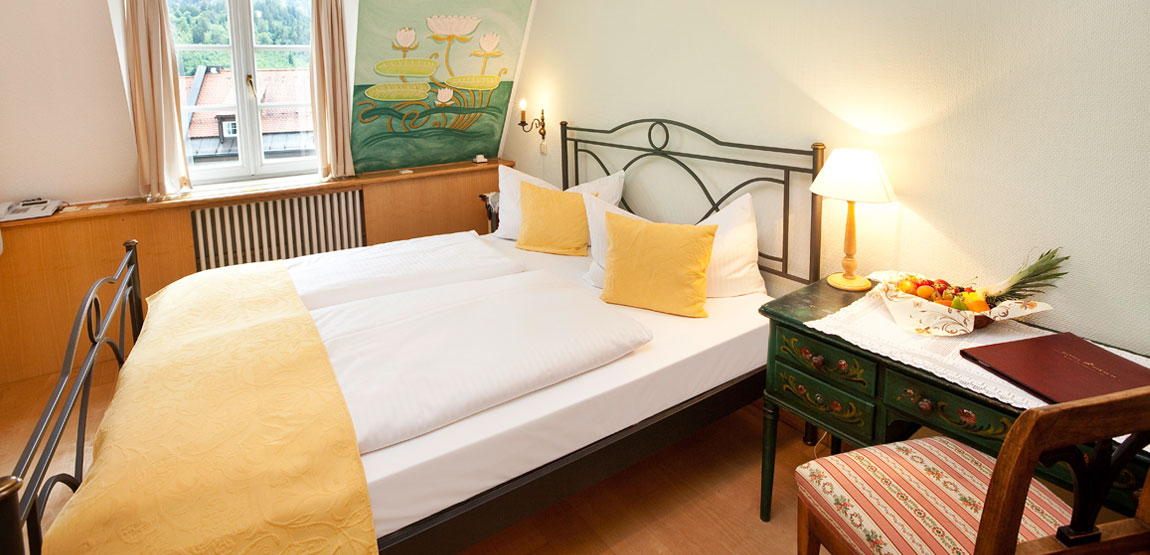 Double room in Hotel Füssen for your visit of Neuschwanstein castle
