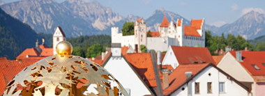 Nature and culture in Füssen including visiting Hohes Schloss castle and a horse-drawn carriage ride
