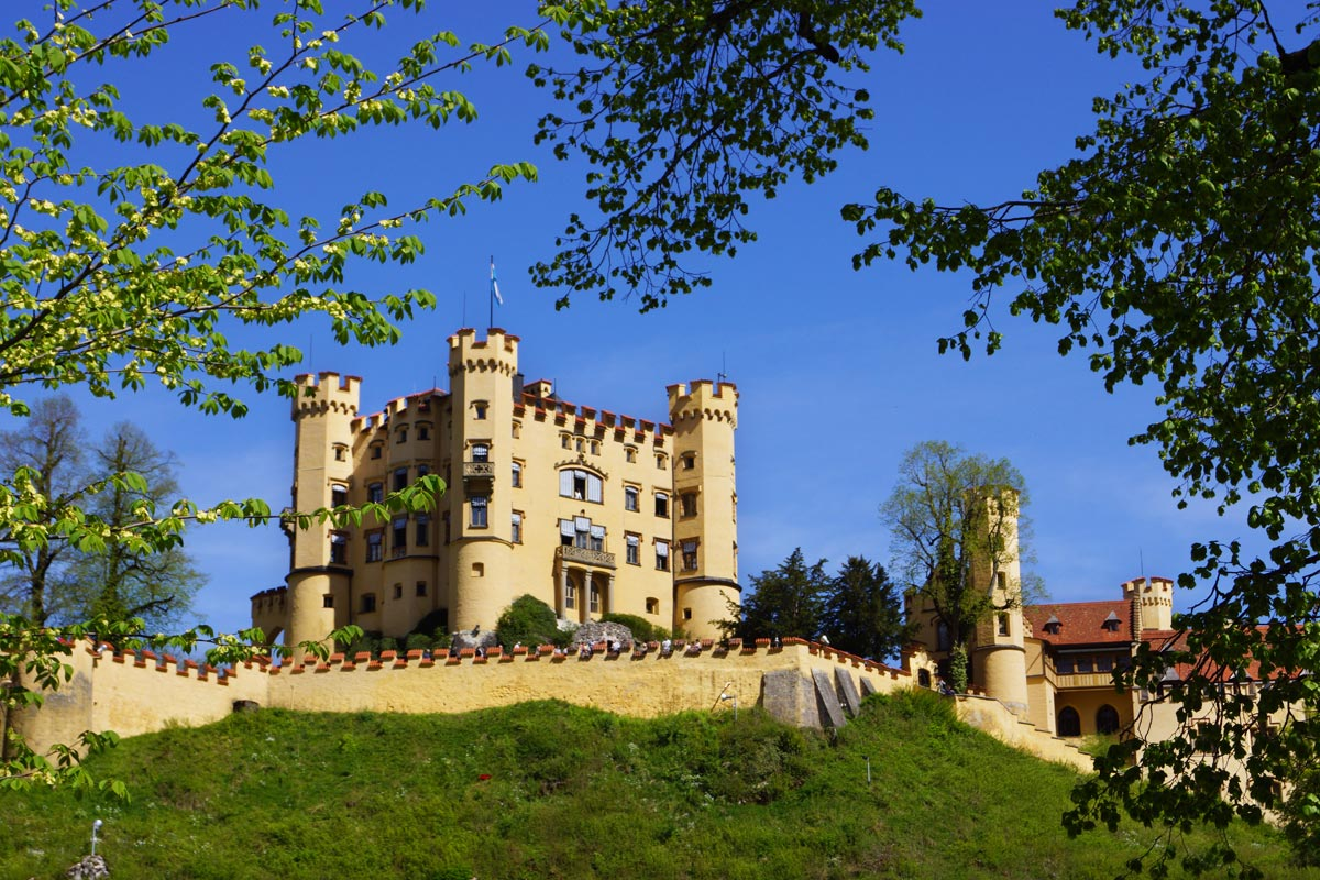 'Hohenschwangau' Castle, the summer residence of the royal family